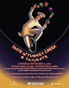 Taste of Turkey Creek Tailgate to benefit The Pat Summitt Foundation @ The Pinnacle at Turkey Creek
