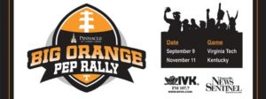 Big Orange Pep Rally @ Pinnacle at Turkey Creek | Knoxville | Tennessee | United States