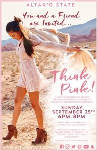 Think Pink at Altar'd State in Turkey Creek @ Altar'd State | Knoxville | Tennessee | United States