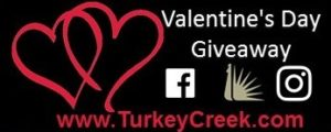 Turkey Creek Valentine's Day Giveaway