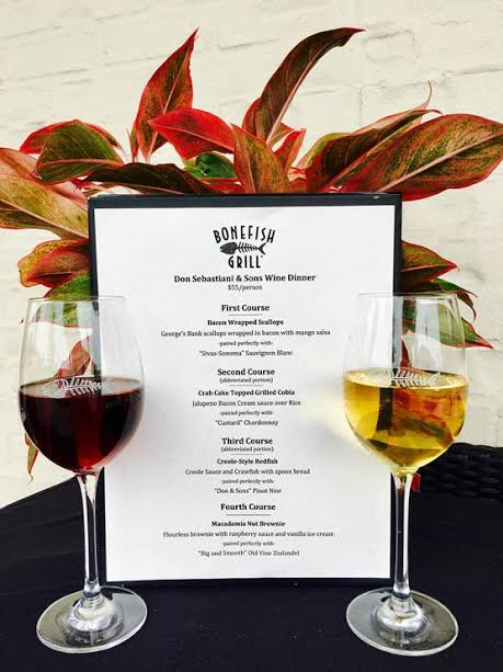 Don Sebastiani & Sons Wine Dinner at Bonefish Grill @ Bonefish Grill | Knoxville | Tennessee | United States