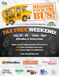 Mission Pack the Bus School Supply Drive @ OfficeMax | Knoxville | Tennessee | United States