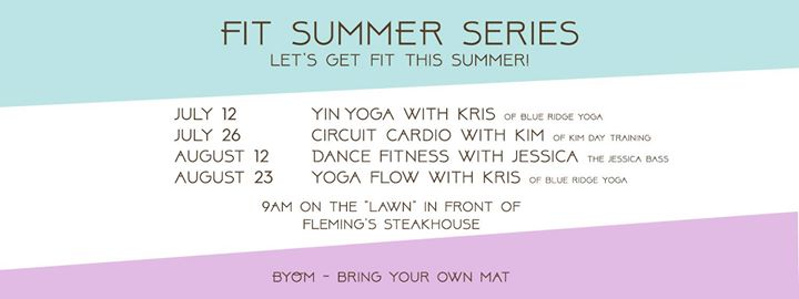 FIT Summer Series (Vinyasa FLOW YOGA) @ Pinnacle at Turkey Creek | Knoxville | Tennessee | United States
