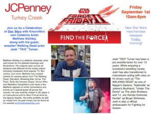 Star Wars Merchandise Release and Celebration @ JC Penney | Farragut | Tennessee | United States