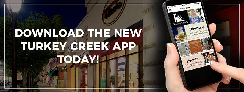 Download the new Turkey Creek App on iOS and Android